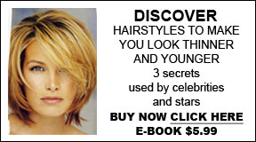 ebook hairstyles to look thinner and younger